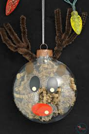 diy christmas ornaments crinkle paper shreds character ornaments