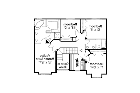Traditional House Floor Plans Traditional House Plan Westhaven 30 173 2nd Floor Plan
