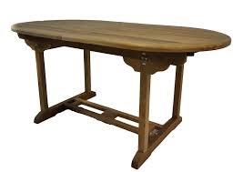 Dining Table Teak Outdoor Teak Summer Extension Dining Table 8 Teak Wood Arm Chairs