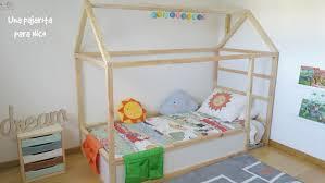 14 maneras fáciles de facilitar somieres ikea diy cama casita montessori con cama kura una pajarita para nico