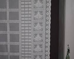 Antique Lace Curtains Vintage Lace Curtain Etsy
