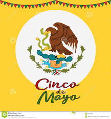 Mexican Flag Cartoon Cinco De Mayo Poster Design Symbol Of The Mexican Flag Eagle
