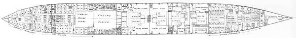 Titanic Floor Plan by Plans Détaillés Du Titanic
