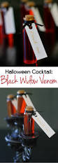 black widow martini halloween cocktail idea black widow venom