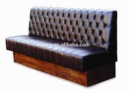alime leather booth seating sofa bench restaurant furniture view