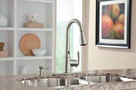 moen motionsense kitchen faucets moen motionsense bright bold and beautiful intended for