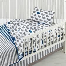 Dimensions Of Toddler Bed Comforter Make A Splash Toddler Bedding Whales The Land Of Nod