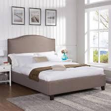 better homes and gardens grayson cal king bed gray walmart com