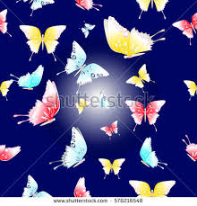 abstract pattern butterfly abstract seamless butterfly pattern fabric print stock vector
