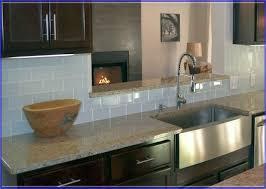 White Glass Tile Backsplash - White glass tile backsplash
