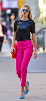 What Goes With Pink 46 Times We Wanted Gigi Hadid U0027s Street Styles Street And