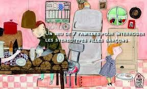 tous les jeux de fille de cuisine un jeu de 7 familles pour interroger le concept de la famille et les