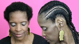how to braid extensions into your own hair feed in cornrows with extensions on short hair natural hair twa