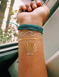 81 mesmerizing glossy metallic ink tattoo designs