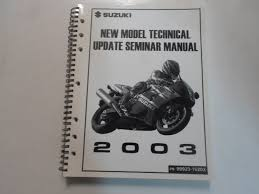 buy 2007 suzuki new model technical update seminar manual in cheap