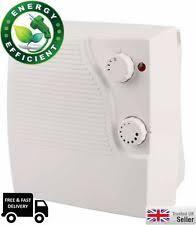 Bathroom Fan Heaters Wall Mounted Timer Bathroom Fan Heater Ebay