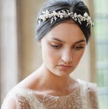 bridal tiara pearl acorn wedding tiara by agnes walker notonthehighstreet