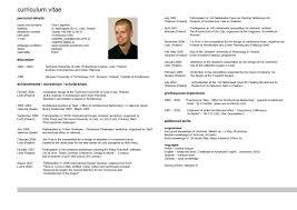 Resume Vitae Sample by 2016 Curriculum Vitae Samples Recentresumes Com
