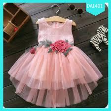 dress anak fashion dress anak flower tile combi terlaris jual baju wanita