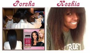 porsche williams hairline porsha williams and keshia knight pulliam are growing out their