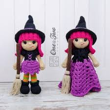 Amigurumi Witch Pattern | willow the witch lovey and amigurumi crochet patterns pack