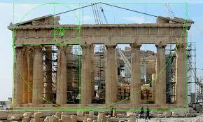 Parthenon Interior The Parthenon And Phi The Golden Ratio