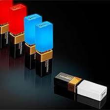 the 9 volt battery light