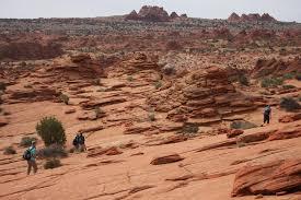 The Wave Arizona Map by Travel To Visit U0027the Wave U0027 At Arizona U0027s Vermilion Cliffs Hikers