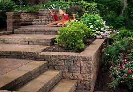 Sloped Garden Design Ideas Corner Sloping Garden Design Ideas Corner