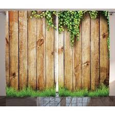 east urban home wood fence rustic home decor graphic print room