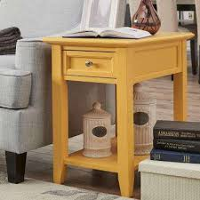 Living Room Accent Table Yellow Accent Tables Living Room Furniture The Home Depot