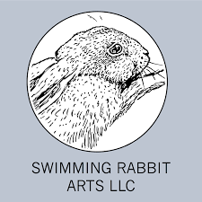 Swimming Logo Design by Graphic Design U2014 Swimming Rabbit Arts Llc