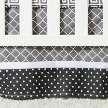 trend lab 3pc crib bedding set u2013 ombre gray target
