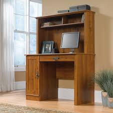 Computer Desk With Cabinets Harvest Mill Computer Desk With Hutch 404961 Sauder