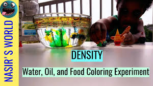 science experiments for kids cool density science project