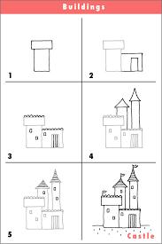 draw a castle castles queens and doodles