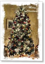 fashioned christmas tree fashioned christmas tree framed seasonal