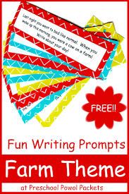 preschool lined writing paper fun free farm writing prompts preschool powol packets you can use these fun farm writing prompts in a huge variety of ways for kids from preschool age through elementary school try some of these ideas