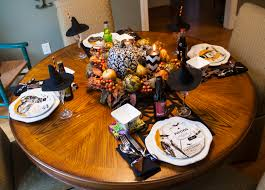 hobby lobby halloween crafts halloween table setting and meal amy spencer interiors