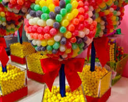 Candy Topiary Centerpieces - disney mouse head centerpiece candy topiary candy buffet