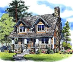 country cabin floor plans country cottage house plans a color rendering of country home plan