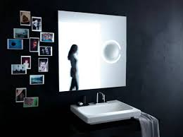 contemporary mirrors with magnifier from ideal standard digsdigs