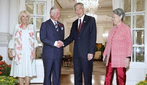 sultan hassanal bolkiah wives prince charles returns to singapore for first time since 1979 as