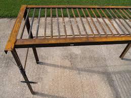 Used Bed Frames Diy Metalworking Crafts Feltmagnet