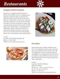 Pizza Barn Hours Buy Nevada Holiday Gift Guide 2014 15