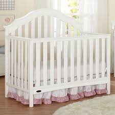 Graco Espresso Convertible Crib by Graco Cribs Addison 4 In 1 Convertible Crib With Mattress In White