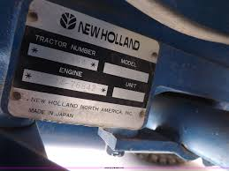 ford new holland 1920sss 4wd tractor item f6236 sold we