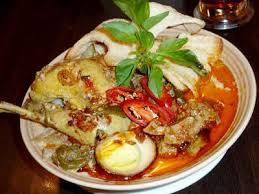 cara membuat opor ayam sunda lontong opor ayam sambel goreng telur culinary indonesian taste