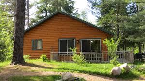 modern cabins tuckaway resort pine river backus minnesota area resort and