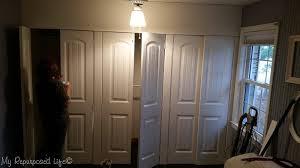 Wall To Wall Closet Doors Wall To Wall Closet Doors Using Bi Fold Doors My